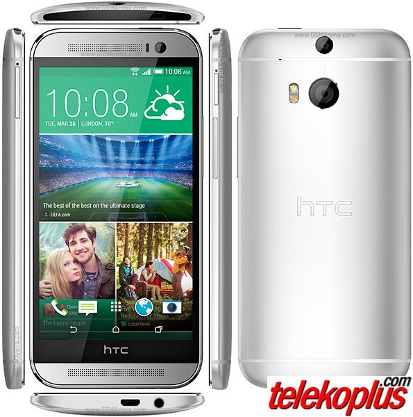 how to connect htc one m8 to tv via usb
