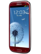 Samsung Galaxy S3 i9300 Red